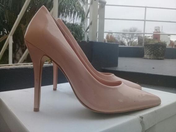 Zapatos Stilleto De Charol