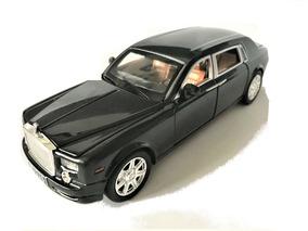 Miniatura Carro Rolls Royce Diecast Musical 1/24 Phanton