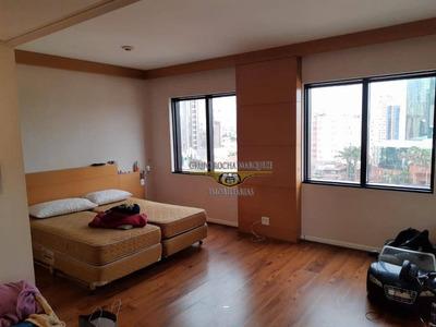 Flat Com 1 Dormitório Para Alugar, 29 M² Por R$ 2.800/mês - Tatuapé - São Paulo/sp - Fl0003