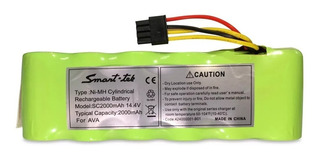 Batería Aspiradora Robot Ava Original Smart Tek Negra