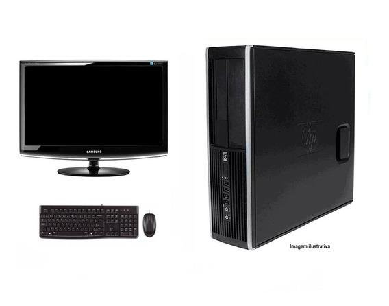 Computador Hp Elite 8200 I5 4gb 120ssd Monitor 18 Polegadas