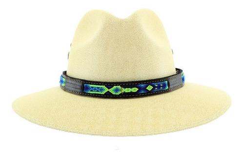 Imagen 1 de 6 de Toquilla Para Sombrero  Piel Tejido 12 Piezas
