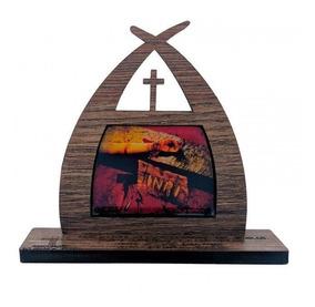 Capelinha Das Mãos Ensanguentadas De Jesus 11cm
