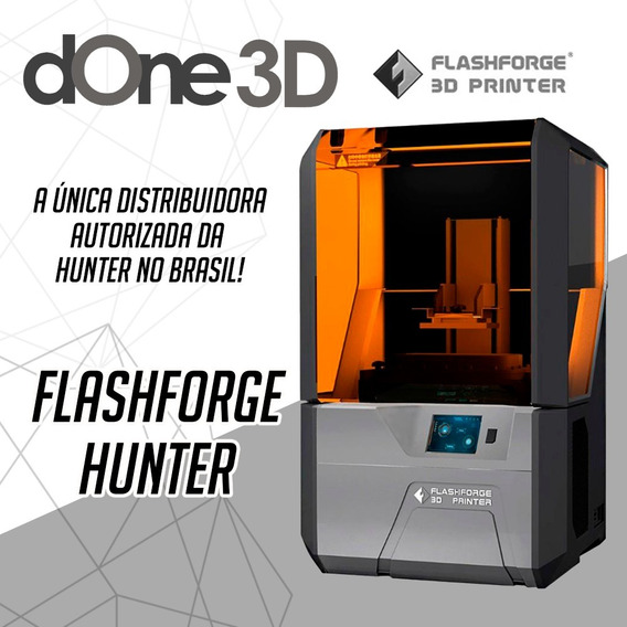 Impressora 3d - Flashforge Hunter