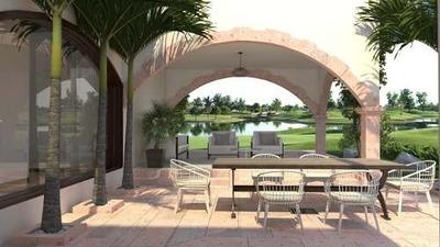 Renta Casa En Cancun, Residencial Exclusivo, Amueblada!!