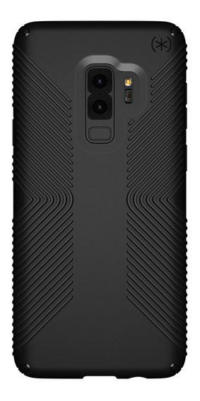 Speck Funda Presidio Grip Para Galaxy S9+ Black/ Black