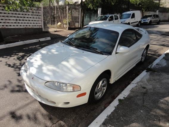 Mitsubishi Eclipse Gst 2.0 Turbo 1995 Branca Couro Impecavel