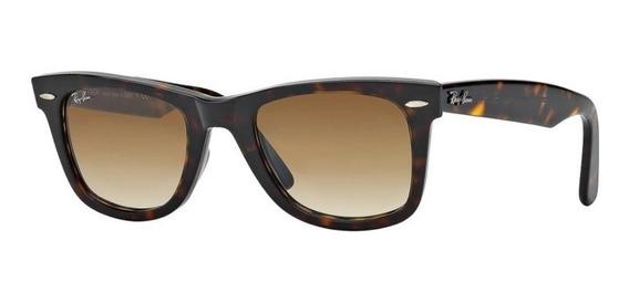 Óculos Ray Ban Wayfarer Preto 2140 Original Fotos Reais