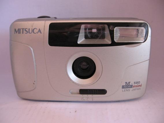 Câmera Mitsuca M-580 Mini Lens Japan Funcionando 100%