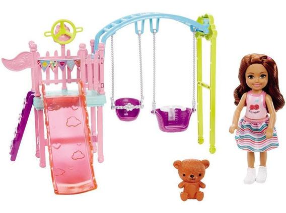 Boneca Barbie - Conjuntos Da Chelsea - Playgroud - Mattel