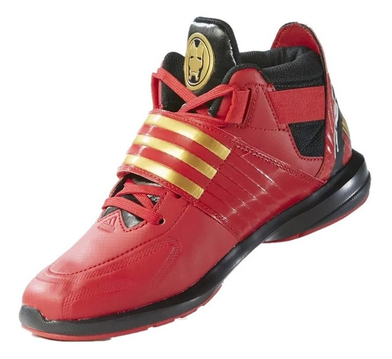 Tenis adidas Niño Rojo The Avengers Af3993