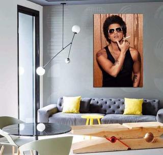 Vinilo Decorativo 60x90cm Bruno Mars Music Funk Pop