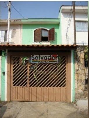 Sobrado Em Rua Tranquila - Planalto Paulista - São Paulo - 8256