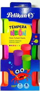 Témpera Neón X 6 Unds Pelikan Neon