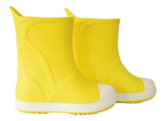 Botas Lluvia Crocs Bump It Boot Amarillo