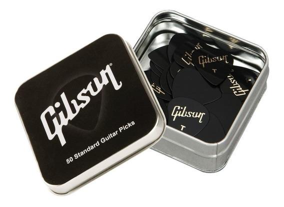 Gibson Aprgg50-74t Pack 50 Puas Thin En Lata Regalo