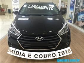 Hyundai Hb20 1.6 Premium Aut. 16v Couro +media $60,99k