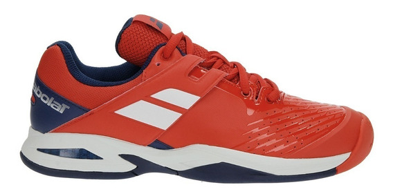 Zapatillas Babolat Propulse Fury Rojas Niño Junior 2018