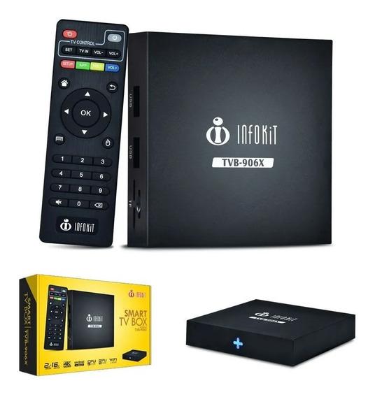 Android Tv Box Quadcore 6.0 16gb Smart Tv Wifi Netflix Hd