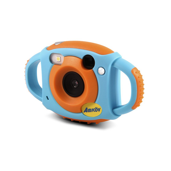 Amkov Cute Digital Video Camera Max. 5 Mega Pixels Built-in