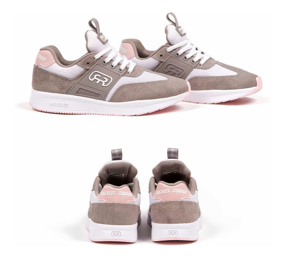 Tênis Hocks 2002 Grey/ Rosa