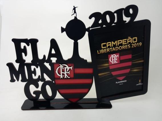 Porta Retrato Personalizado Flamengo Libertadores 2019