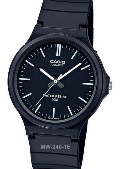 Reloj Casio Mw-240 Big Case 43 Mm 5 Bar Varios Colores Watch