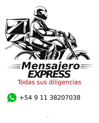Mensajeria En Moto Habilitado En Cuarentena C.a.b.a Y G.b.a