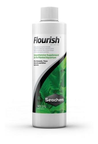 Nutrientes Para Plantas De Acuario Flourish  250ml Seachem