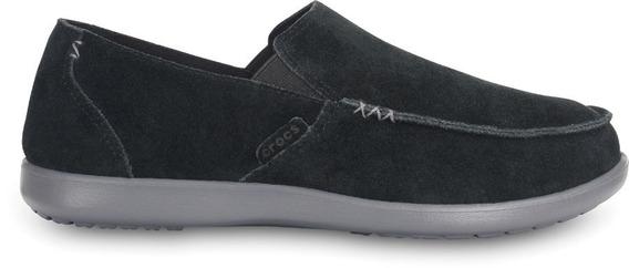 Mocasín Crocs Santa Cruz Suede Náutico Zapato Hombre