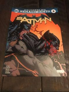 Batman 3 - Universo Dc Renacimiento - Ecc Argentina