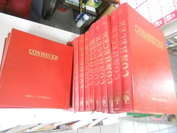 Enciclopédia Conhecer 15 Volumes (editora Abril)