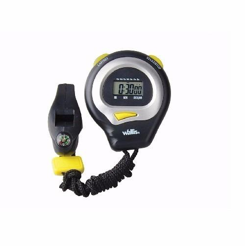 Cronometro Y Reloj Digital Con Silbato Y Brujula Wallis