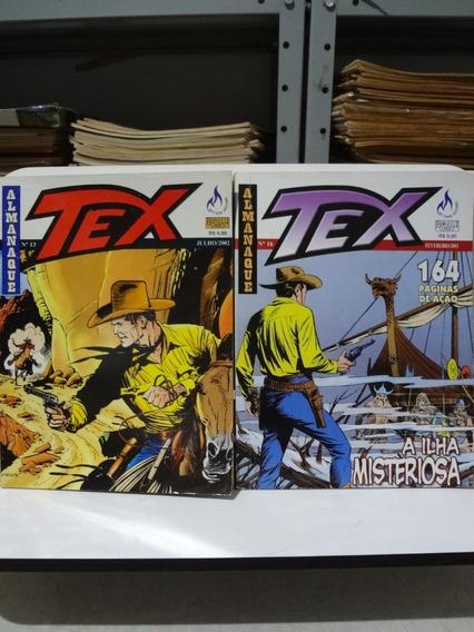 2 Gibis Almanaque Tex Nº 13 E 16