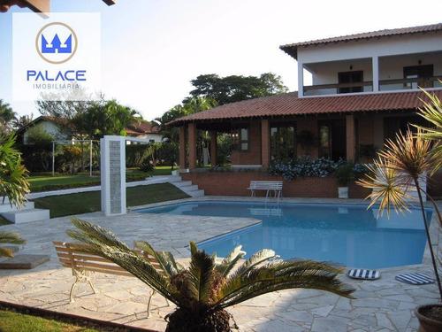 Chácara Com 6 Dormitórios À Venda, 2590 M² Por R$ 1.800.000,00 - Santa Rita - Piracicaba/sp - Ch0049