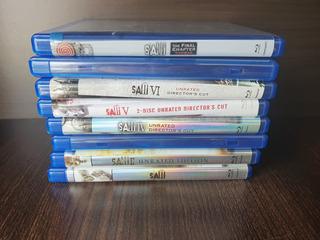 Jogos Mortais Saw Blu-ray 1 A 7 Original Importado