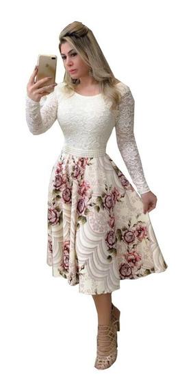 Vestido Noiva, Casamento Civil Luxo Com Brinde