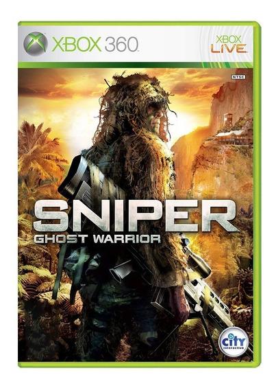 Sniper Ghost Warrior - Xbox 360 - Usado - Original