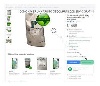 Triple 15 Bolsa X 25 Kgs. Fertilizante Npk 15-15-15