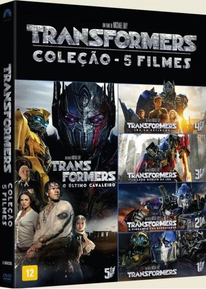 Dvd Transformers - Coleção 5 Filmes (5 Dvds)