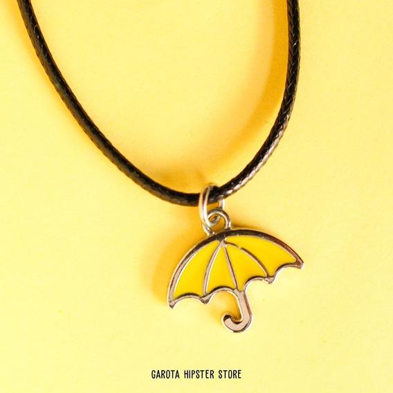 Colar Guarda-chuva Amarelo Mini How I Met Your Mother