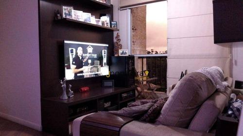 Apartamento Com 2 Dormitórios À Venda, 52 M² Por R$ 395.000,00 - Socorro - São Paulo/sp - Ap15070