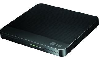 Grabador Quemador Lg Externo Dvd-cd 24x Negro Usb Portable