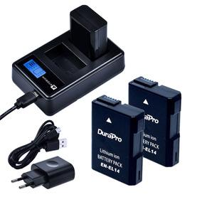 2x Bateria + Carregador Duplo Nikon D5500 D5300 D5100 D3100