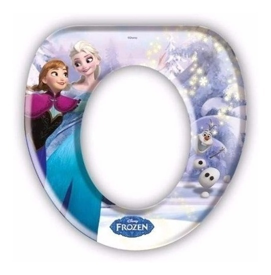 Adaptador Redutor Infantil Para Vaso Sanitario Gedex Frozen