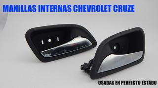 Manillas Internas De Puerta Chevrolet Cruze (no Turbo)usadas