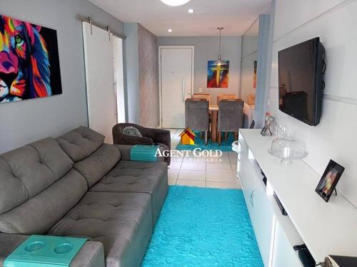 Imagem 1 de 19 de Apartamento Com 2 Dormitórios À Venda, 64 M² Por R$ 650.000,00 - Barra Da Tijuca - Rio De Janeiro/rj - Ap2495