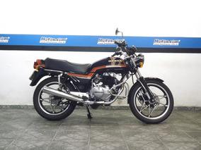 Honda Cb 400 Cb2 1982 Preta Impecável Raridade - Motos.com