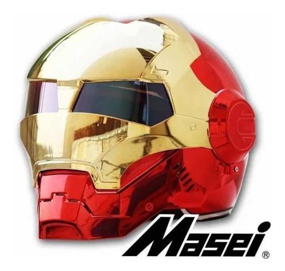 Capacete Moto Homem De Ferro iron Man Marvel Legends