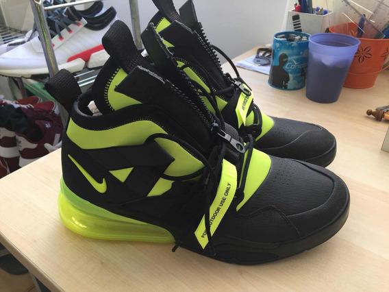 Tênis Nike Air Force 270 Utility Black/volt